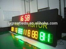 Alibaba.com in russian wireless RF big size digital signage outdoor digital electronic basketball scoreboard