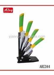 5 pcs fashion ceramic knife