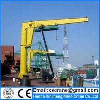 Stand column jip crane