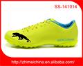2014 nueva marca personalizada de fútbol hombre de los zapatos, zapatos de fútbol, de fútbol de césped zapatos