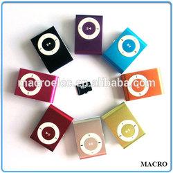 Mini Sd MP3, Cheap Support TF Card Clip Mini Mp3 Player