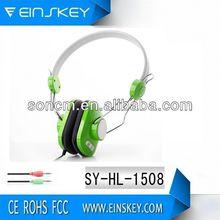 Alla moda ad alte prestazioni suono sy-1508 3.5mm sport auricolari