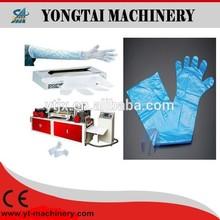 Disposable hand gloves making machine
