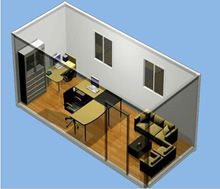 Used Container Office for construction site