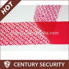void seals security tape tamper evident tape