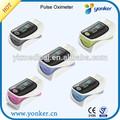 Les mesures de niveau d'oxygène portable oxymètre de pouls du bout des doigts spo2& pouls
