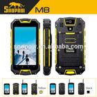 snopow m8 walie talkie PTT 5 km quad core IP68 waterproof 4.5 inch rugged waterproof cell phone