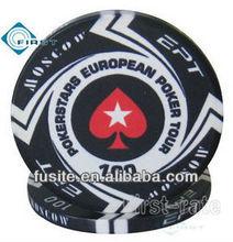 Custom Casino Ceramic Poker Chips EPT
