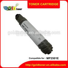 Compatible MP2501E factory direct sale refill china premium toner cartridge