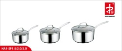 2012 New Arrival Stainless Steel Cookware