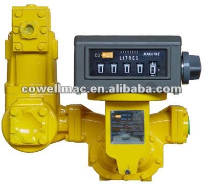 de combustible del medidor de flujo