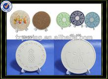 ceramic coaster,PVC coaster,ceramic coaster with cork back
