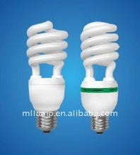 7w-125w E27 E14 B22 hot selling espiral 2700k-6700k cfl bulb