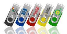 Free logo, hot selling Swivel Flash Drive USB bulk cheap (Model # :OT-U07)
