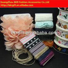 Decorative printed ribbon crafts for Scrapbook Set