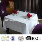 100%MJS Spun polyester tablecloth spun polyester restaurant table linens and 100% spun polyester napkins