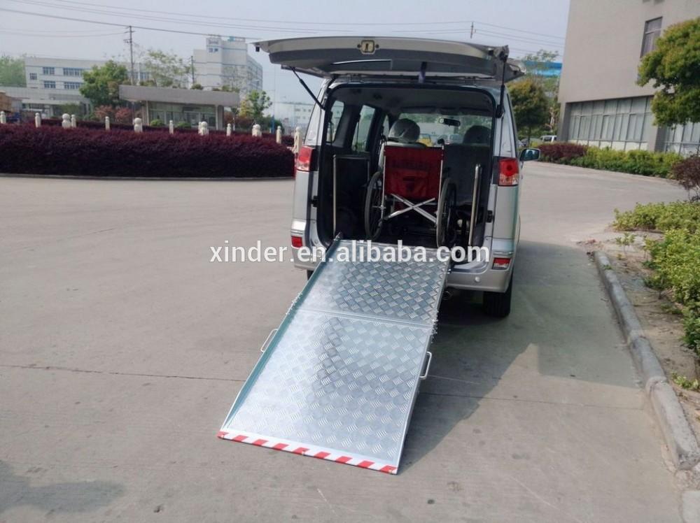BMWR-2 Wheelchair Ramp For Van and Minivan