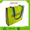 Wholesale eco friendly yellow non woven shopping bag