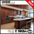 حار بيع التصميم الجيد خزانة المطبخ الخشب الصلب مطبخ مجلس الوزراء المطبخ وحدة