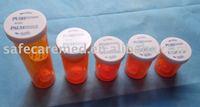 Child plastic resistant cap Vials