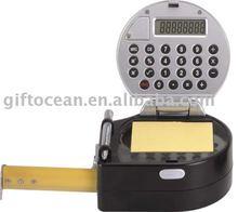 promotional tape measure, gift calculator, pen, light, memo