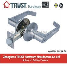 TRUST ANSI Grade 3 Tubular Bath Room Lever Lock