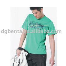 2012 Summer High Quality Polyester polyester tshirts plain sport tshirts