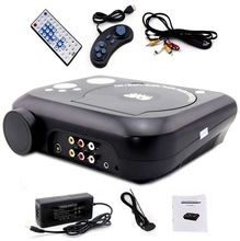 Projector with tv tuner dvd player av in and out game usb sd/lcd led projector