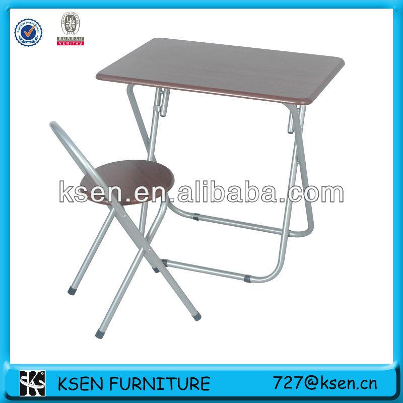 Plegable mesa de estudio y una silla conjunto kc 7580 - Mesa de estudio plegable ...