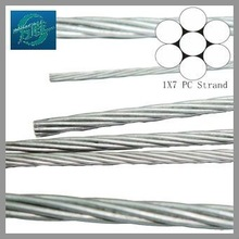 Zinc Coated stay steel Wire Strand