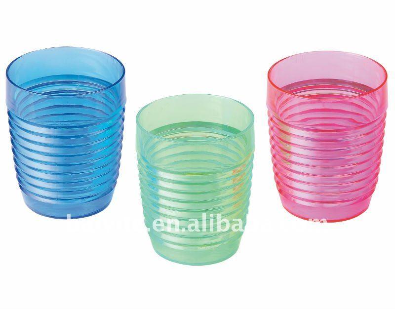 Copo de plástico, copo de água, copo colorido, 500 ml copo pp