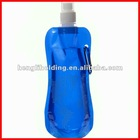 500ml plastic collapsible water bottle,BPA free