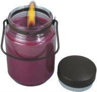 christmas candle tin