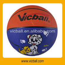 3# promotional rubber basketball