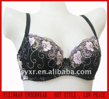 2014 New design, Beautiful and comfortable lace ladies' bra #W6397