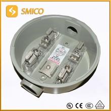 Electirc round meter socket base 100A