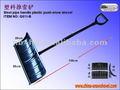 Simple de acero tipo/mango de aluminio de plástico pala de nieve ( g811 - b )
