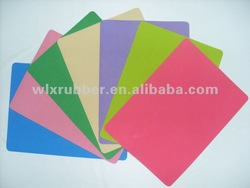 colorful natural rubber mat for wholesale