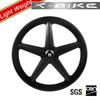 2014 XBIKE popular nice design tubular 5 spoke carbon wheel bike