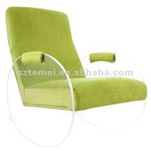 innovative clear acrylic rocker chair
