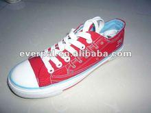 2014 Canvas rubber young men's shoe