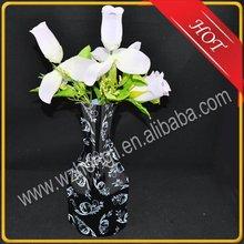 disposable plastic vase