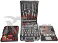 Caja de aluminio / 186 juego de herramientas / kraftwelle tool set