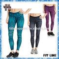ผู้หญิงขายส่งyogพิมพ์sublimatedกางเกงรัดรูปกางเกงโยคะ/เสื้อผ้าออกกำลังกาย