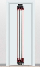door gym fitness machine simply installing I-factor Home gym bar, I shaper total body ftness machine