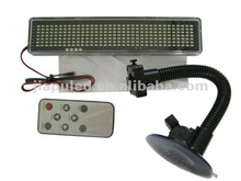 LED car display,car led scrolling message,LED Car message with Remote control