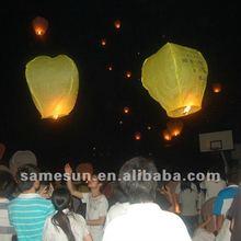 Sky lantern metal free