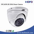 Hikvision 720 tvl cctv ir interior/ao ar livre da abóbada da câmera