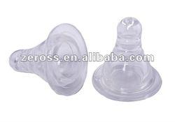 FDA&LFGB Standard Food Grade Silicone Soft Nipple For Baby