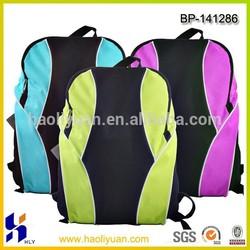 Polyester school backpack bag